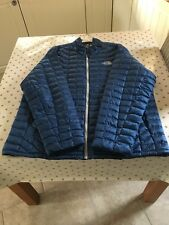 Mens The North Face Thermoball Jacket XXL Worn Once Blue.