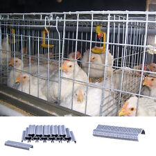 600pcs M nails for Clip Plier repairing clamp rabbit bird poultry Cage repair