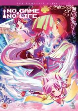 No Game No Life Complete Series Collection DVD New & Sealed ANIME Region 2 MVM
