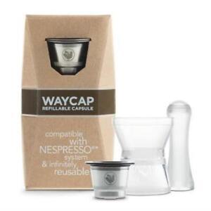 WayCap Reusable Coffee Capsules - Nespresso Compatible