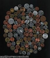 100 ALL DIFFERENT COUNTRIES WORLD WIDE CURRENCY MONEY COIN COLLECTION 100 SETS
