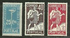 PORTUGAL 1937 Amazing Very Fine Mint Lightly Hinged Stamps Scott # 571-573