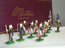 BRITAINS COLLECTORS CLUB BRITISH ROYAL MARINES BAND LIMITED EDITION FIGURE SET