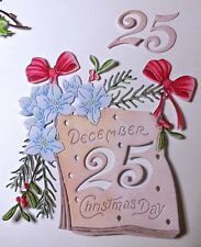 !NEW! TATTERED LACE CHRISTMAS 2018 CHRISTMAS DAY DIE CUT SETS - FREE P & P!!
