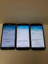 LOT OF THREE!! Samsung Galaxy S5 SM-G900 - 16GB - Black (Unlocked) Smartphone