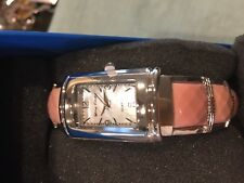 Jay King Pink Opal Square Face Watch