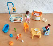 PLAYMOBIL 4286 Babyzimmer Kinderzimmer Puppenhaus Villa Wohnhaus Mutter Kind TOP