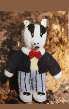 - Bill Badger Toy Knitting pattern from Rupert Bear