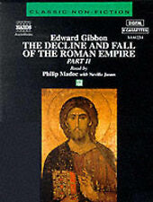 The Decline and Fall of the Roman Empire: Pt.2 by Edward Gibbon (Audio cassette, 1997)
