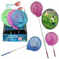 Fishing Net 3ft Extendable Telescopic Pond Nets Sea Butterfly Insect Bug Kids