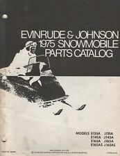 1975 EVINRUDE & JOHNSON SNOWMOBILE(see cover for list) PARTS MANUAL 263958 (343)