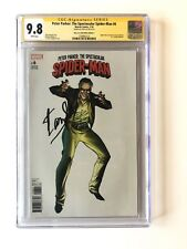 PETER PARKER: THE SPECTACULAR SPIDER-MAN 6 CGC 9.8 SS EDITION C SIGNED STAN LEE