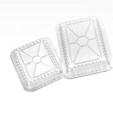 """New listing Ops Plastic Oblong Dome Lid For 1 lb. Container 5.5"""" L x 4.5"""" W 