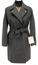 Max Mara City Micron Dark Tobacco Water Repellent 2pc Short Coat Msrp $1990.00