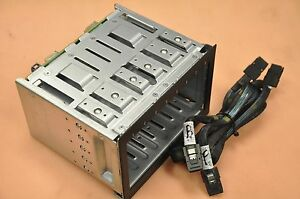 HP DL370/ML370 G6 Server Hot-Plug SFF Drive Cage w/cables 511785-001/519560-001