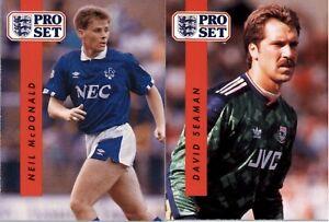 1990-91 Pro Set Soccer (151-328)  - YOU PICK THE CARD
