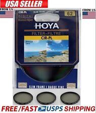 Hoya 62mm Circular Polarizing CIR-PL CPL FILTER fit for Canon Nikon Sony Lenses