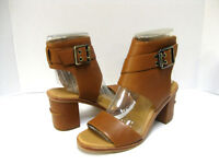 UGG CLAIDEET WOMEN HIGH HEELS LEATHER CHESTNUT US 11 /UK 9.5 /EU 42