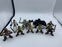 2001-2011 Hasbro LFL Star Wars Action Figures Galactic Heroes Lot of 9