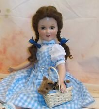 """21"""" JUDY GARLAND doll as DOROTHY Wizard of OZ composition BLUE Studio version"""