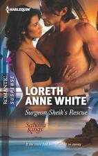 Surgeon Sheik's Rescue, White, Loreth Anne, Good Condition, Book
