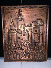"New listing Muzeul Bran Copper Pressed Plaque (5 1/2"" x 7"")"