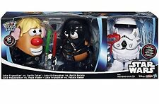 Disney Star Wars Mr Potato Head 30 Piece Set Luke Frywalker Darth Tater & Spu.