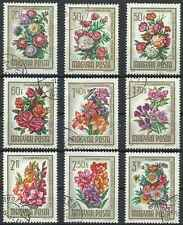 Timbres Flore Hongrie 1721/9 o lot 15932