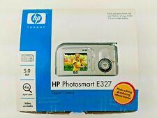 HP PhotoSmart E327 5.0 MP Digital Camera Silver