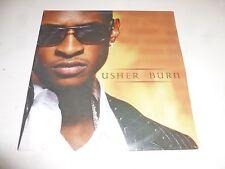 USHER - Burn - 2004 UK 2-track vinyl Single