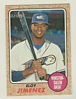 2017 Topps Heritage Minors #125 ELOY JIMENEZ RC Rookie White Sox QTY AVAILABLE
