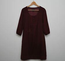 Boden 3/4 Sleeve Regular Size Round Neck Dresses for Women