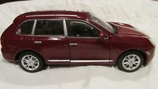 Welly Porsche Cayenne Turbo Maroon Sports SUV 1:24 Scale Diecast dc2467