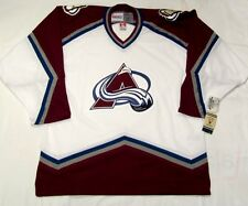 COLORADO AVALANCHE - size XL - CCM 550 VINTAGE series - WHITE Hockey Jersey  cdn