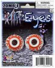 Zombie Eyes Eyeball Fancy Dress Up Party Favor Halloween Adult Costume Accessory