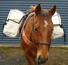 Pack Panniers Horse Pannier Suit Sawbuck or Decker Pack Saddle  Packsaddle