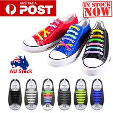 New listing Easy Lazy No Tie Elastic Silicone Shoe Laces Triathlon Shoelaces Adult Unisex ME