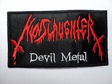 NUNSLAUGHTER  DEVIL METAL     EMBROIDERED PATCH