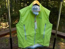 NWT Atlantis Weather Gear Microburst Men's XL Sailing Green Wind Rain Vest $119