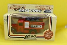 Lledo Days Gone Model A Ford Stake Truck with Uniroyal decals and Tyre Load