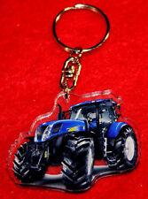 porte-cles tracteur new holland 1 keychain llavero schlusselring