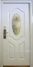 75,Wohnungstür,Sicherheitstüren,Haustür Tür Türen weiß Innen Links 100x205cm.