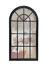 French Hampton Style Gallery Arch Wall Mirror Hanging Provincial Frame Home Deco