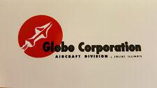 Globe Corporation Aircraft Drone Propeller Decal Set of 2 Sensenich 1940s - 50s