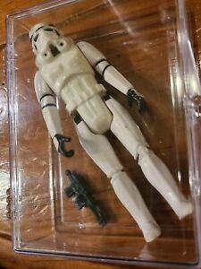 1977 Vintage Star Wars Stormtrooper Loose Action Figure With Blaster