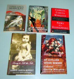 5 Books GABRIEL GARCIA MARQUEZ Magical Realism STRANGE PILGRIMS Colombia MEXICO