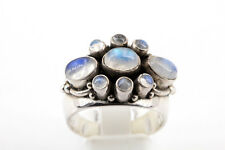 Edler Mondstein 925er Sterling SIlber Ring Größe 60 Gewicht 13,20g RAR
