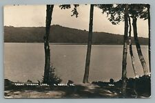 Great Embden Lake RPPC North Anson ME Antique Maine—Somerset County 1919