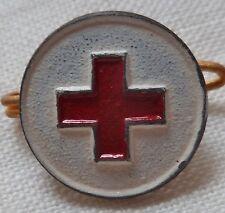 Insigne Boutonnière CRF INFIRMIERE CROIX ROUGE FRANCAISE WWI 1914/1918 obsolète1