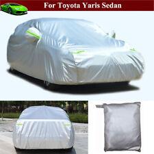 Full Car Cover Waterproof / Dustproof Car Cover for Toyota Yaris Sedan 2014-2021